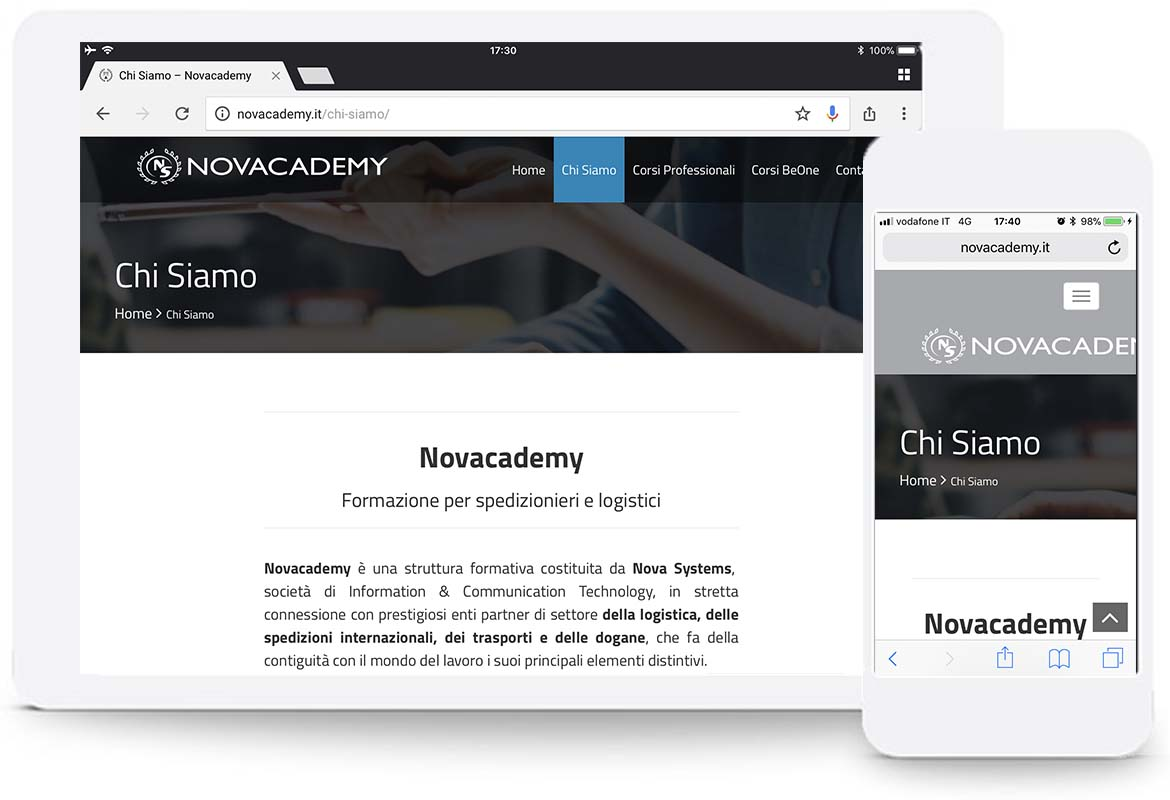 website novacademy 2