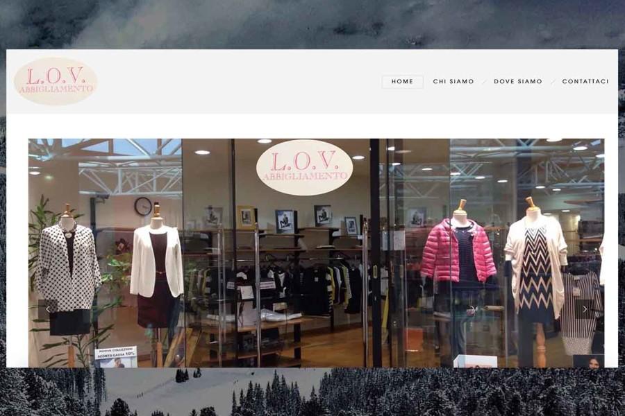 Lov Abbigliamento Website