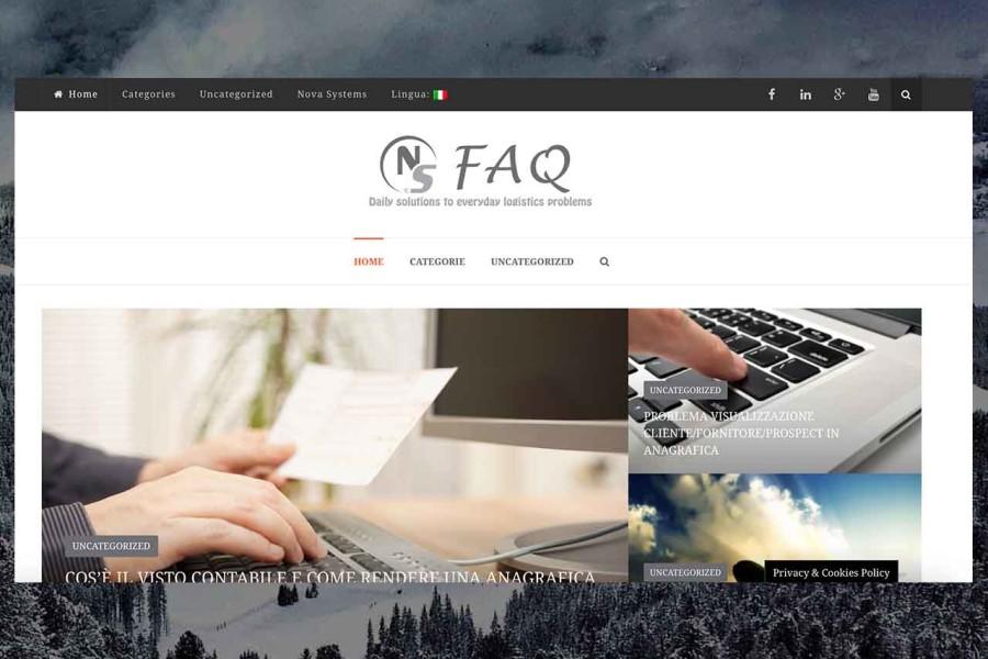 NS FAQ Website