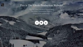 Ghido Production Website