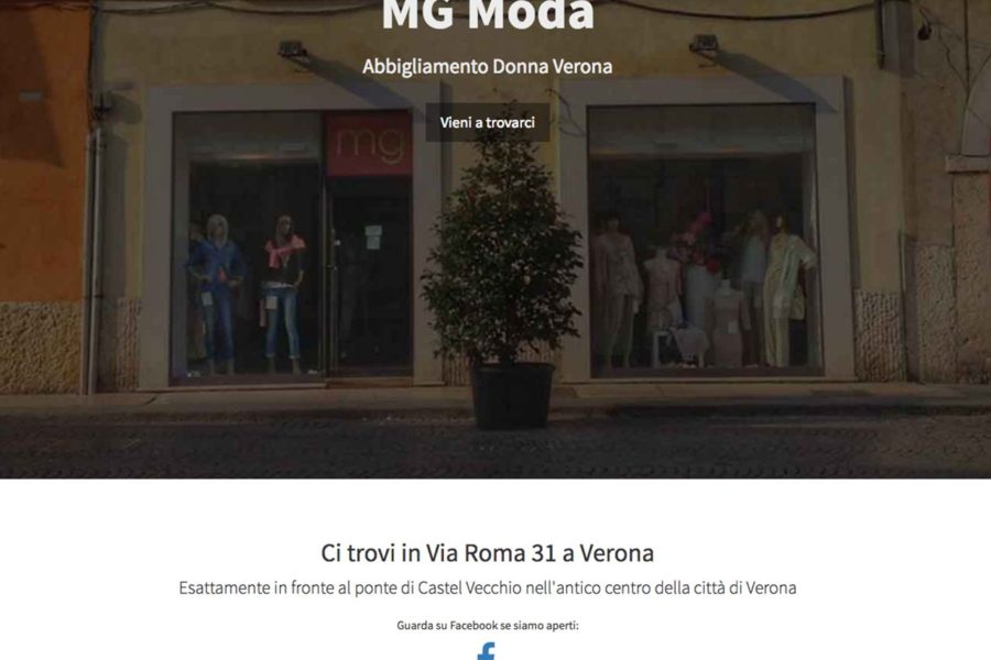 Mg Moda's Website